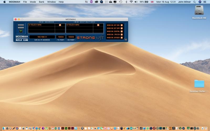 MOOMAH screenshot 1