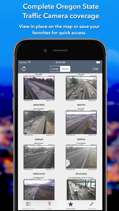 Oregon Roads Traffic Screenshot
