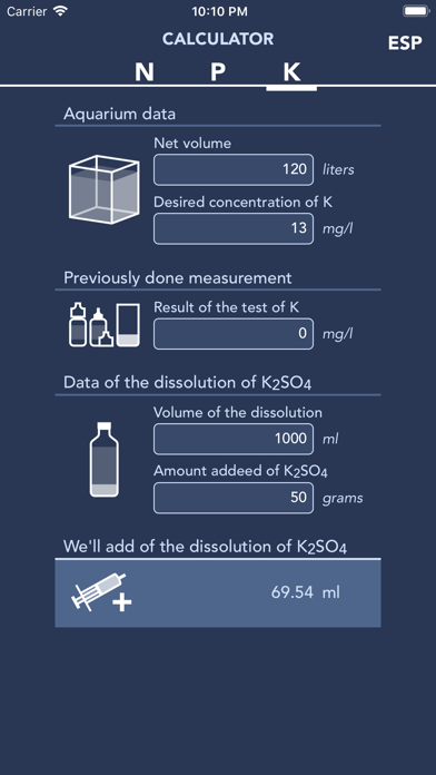 Screenshot #3 pour Calculator NPK