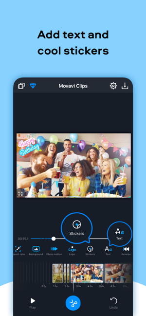 Movavi Clips: Montage Maker Screenshot