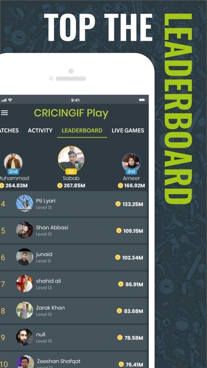 Cricingif-Live Cricket Scores screenshot-5