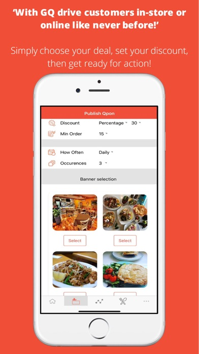 GrabQpons Partners app image
