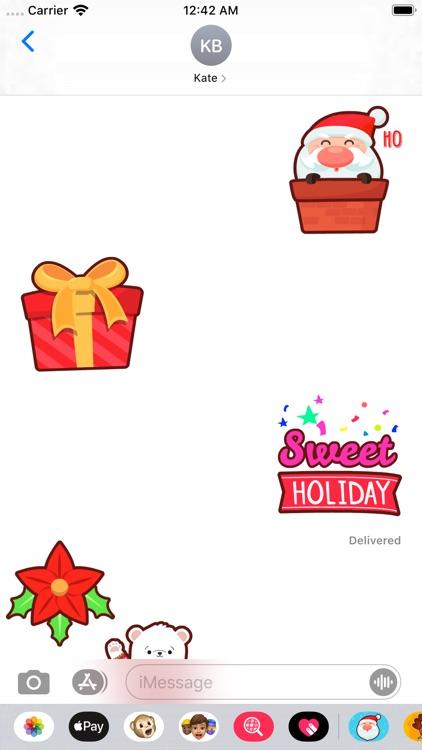 Christmas Stickers * screenshot-3