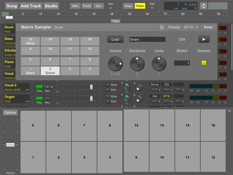 MultitrackStudio for iPad screenshot-3