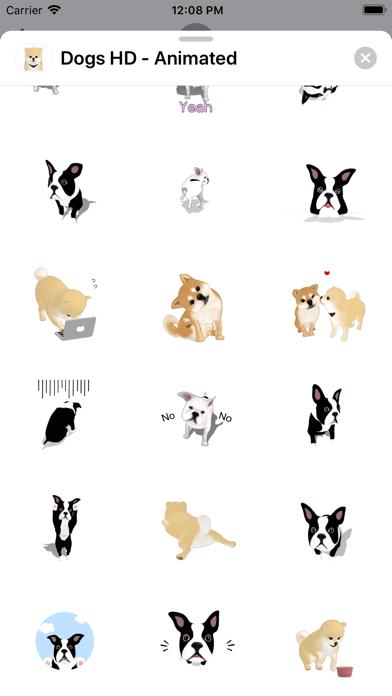 Dogs HD - Animated screenshot 5