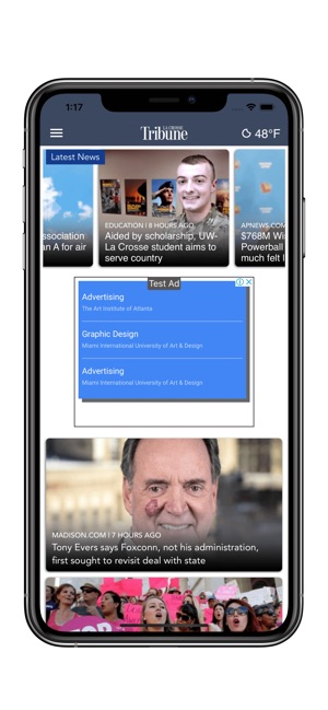 La Crosse News >> La Crosse Tribune On The App Store