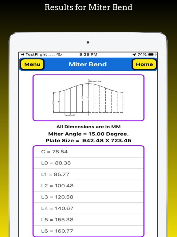 Miter Bend Pro screenshot 7