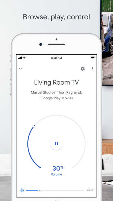 Screenshot for Google Home in United Kingdom App Store