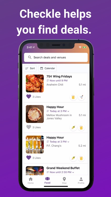 Checkle: Find Happy Hours screenshot-4