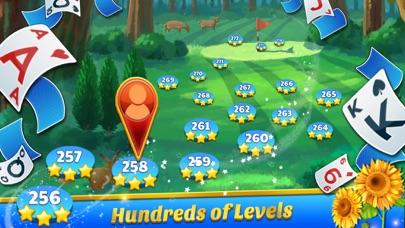 Golf Solitaire Tournament screenshot two