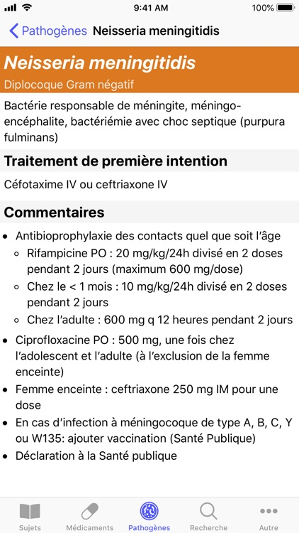 Antibiothérapie Pédiatrique screenshot-3