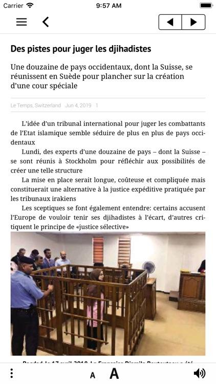 Le Temps ePaper screenshot-3