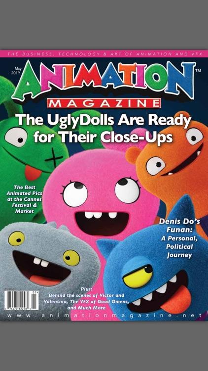 Animation Magazine, Art & VFX!
