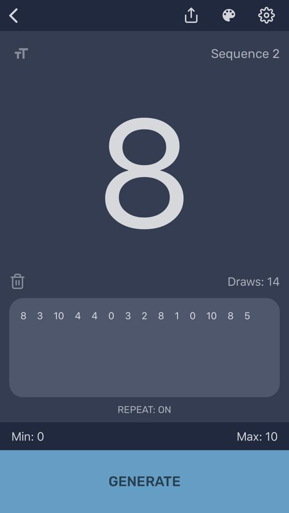 Random Number Generator App Free