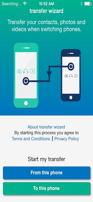 Mobile Transfer Wizard on the App Store