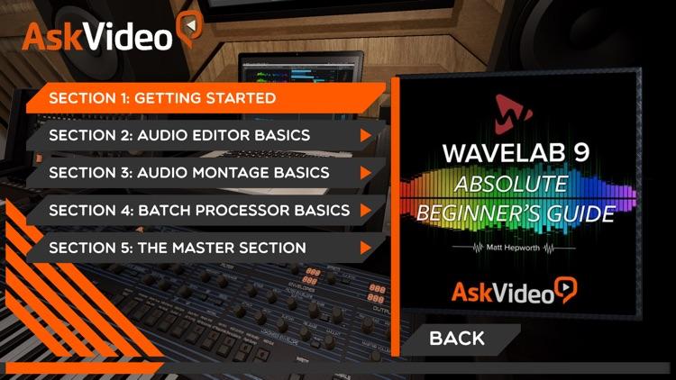 Beginner's Guide For WaveLab 9