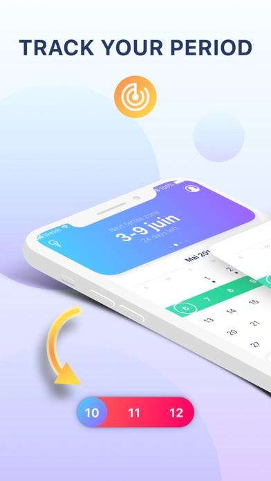 Period tracker- cycle calendar Screenshot