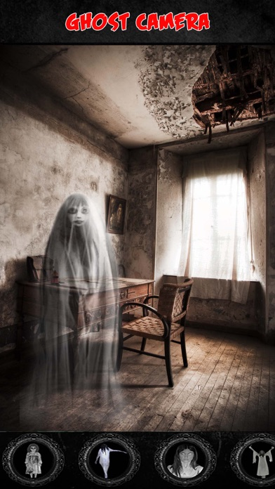 Ghost Caught on Camera Prank screenshot one