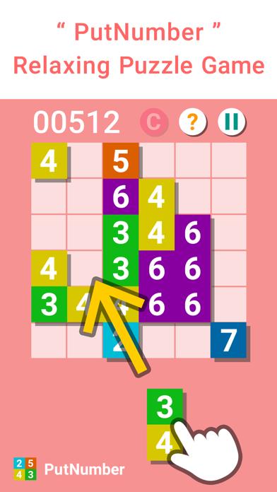 PutNumber - Simple Puzzle Game