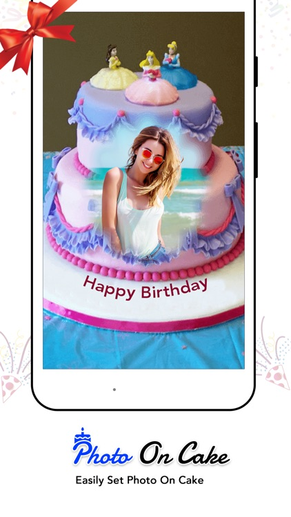 Stupendous Name Photo On Birthday Cake By Feng Wang Personalised Birthday Cards Xaembasilily Jamesorg