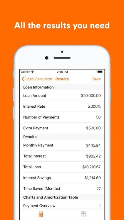Loan Calculator & Manager