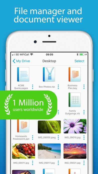 Screenshot for FileBrowser - Document Manager in United Arab Emirates App Store