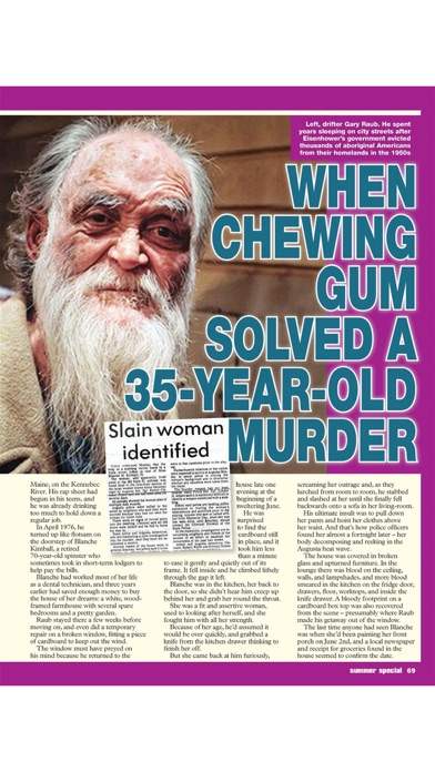 True Crime Magazine screenshot 5