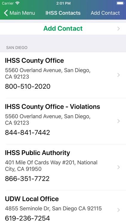 IHSS Help screenshot-3