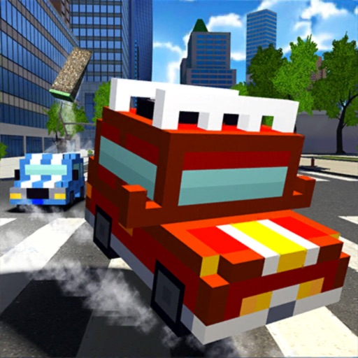 Blocky Cars In Real World icon