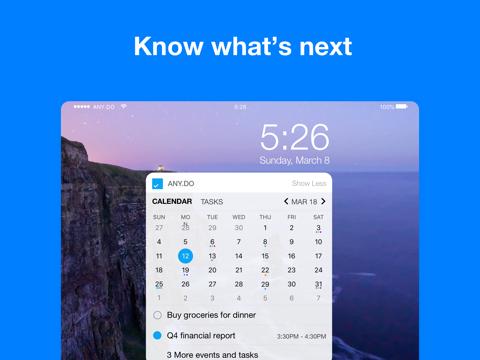 Any.do: To do list & Calendar - náhled