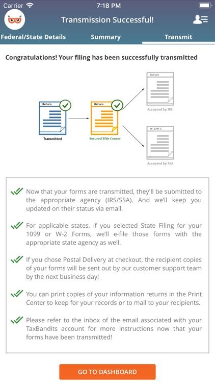TaxBandits: E-File 1099 screenshot-5