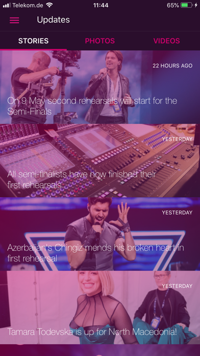 Eurovision Song Contest - The Official App Screenshot 4