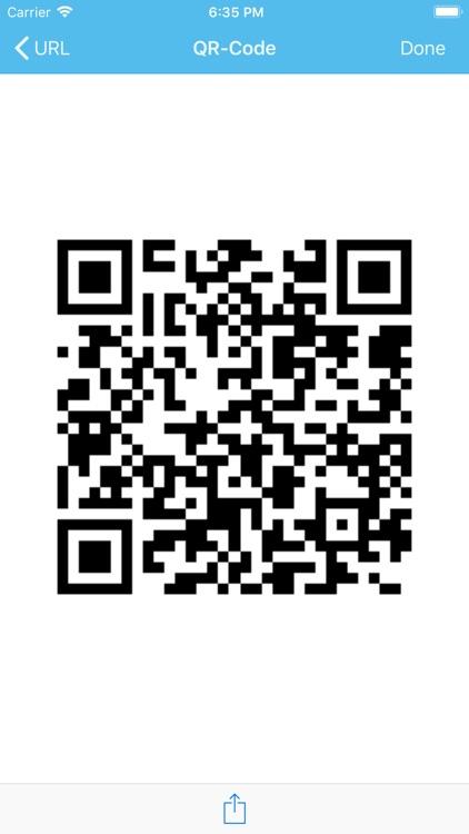 Barcode & QR code screenshot-4