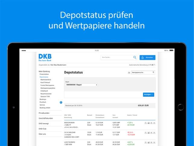 dkb bank online banking
