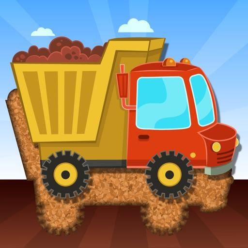 Детские машинки грузовики и строительные машины