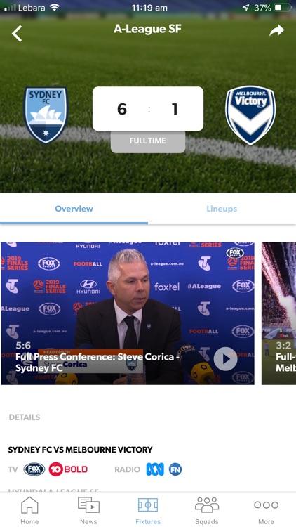 Sydney FC Official App screenshot-4