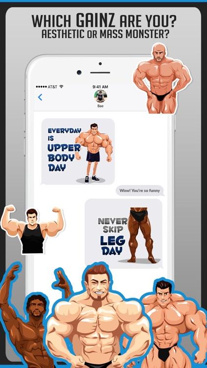 Body Building Stickers Emoji screenshot-3