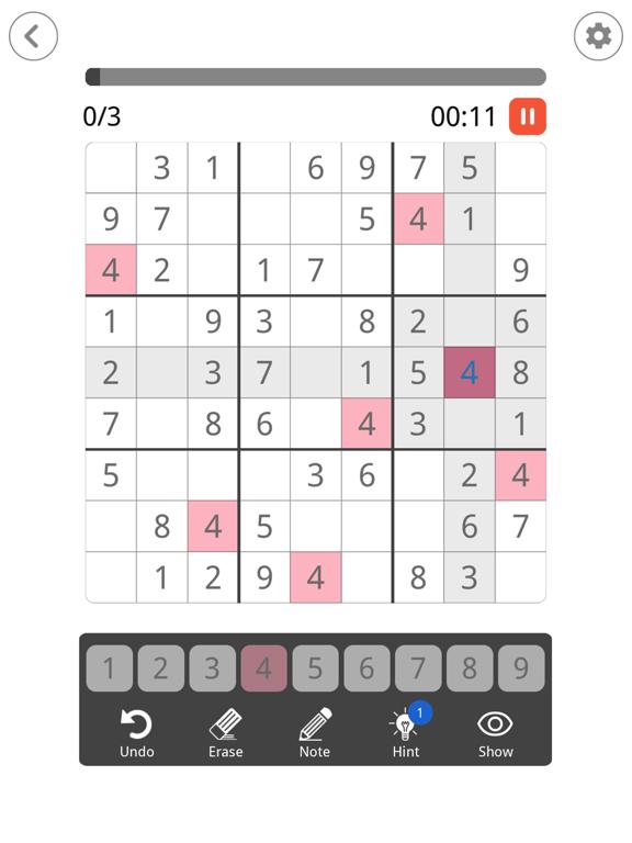 Sudoku: Brain Puzzle Game screenshot 10