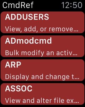 CmdRef on the App Store