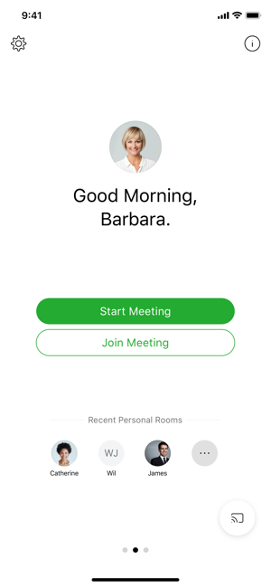 ‎Cisco Webex Meetings Screenshot
