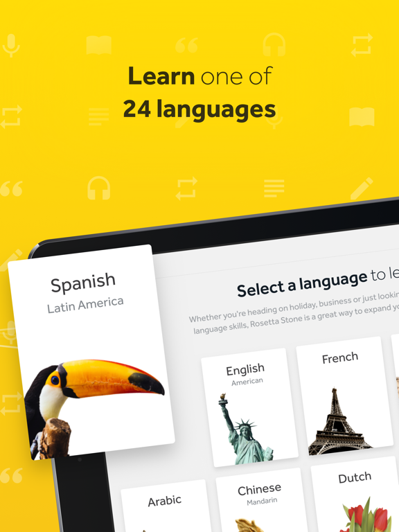 Learn Languages: Rosetta Stone screenshot