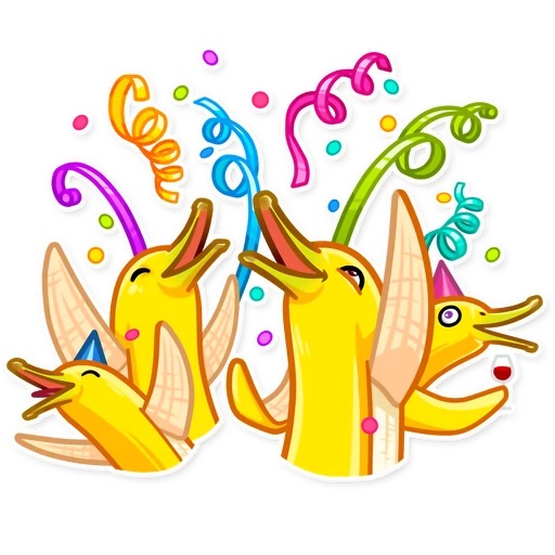 Mr. Banana Stickers Pack
