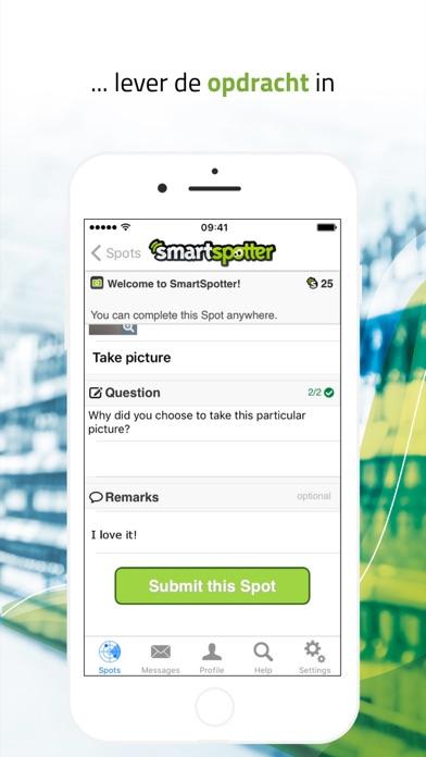 SmartSpotter - Verdien geld