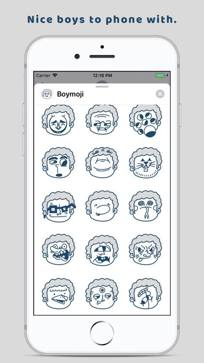 Boymoji - Cartoon Sticker Pack