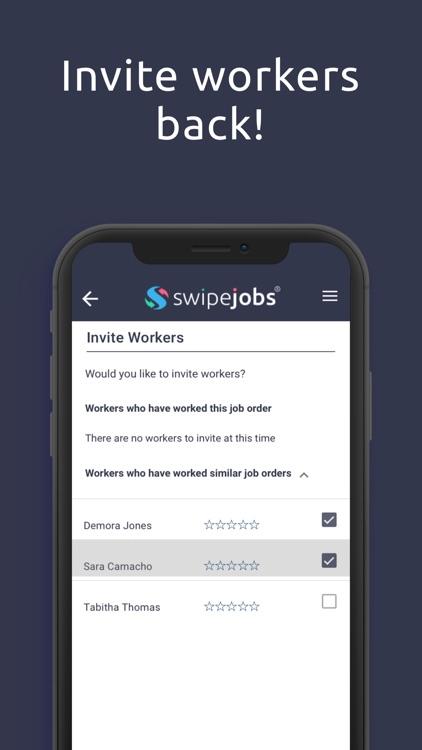 swipejobs Business screenshot-5