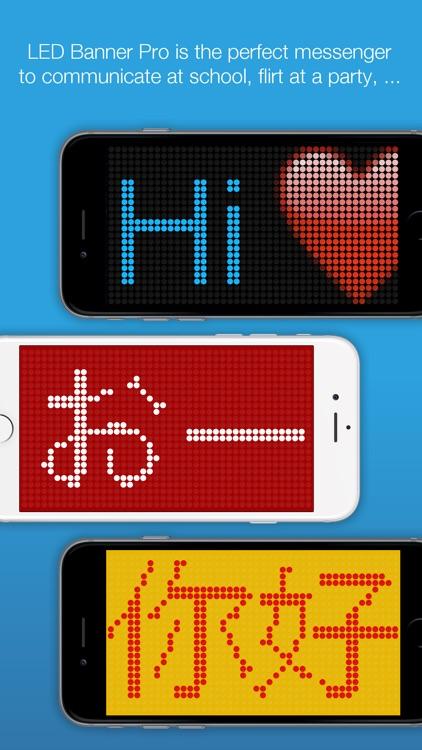 LED Banner Pro screenshot-0