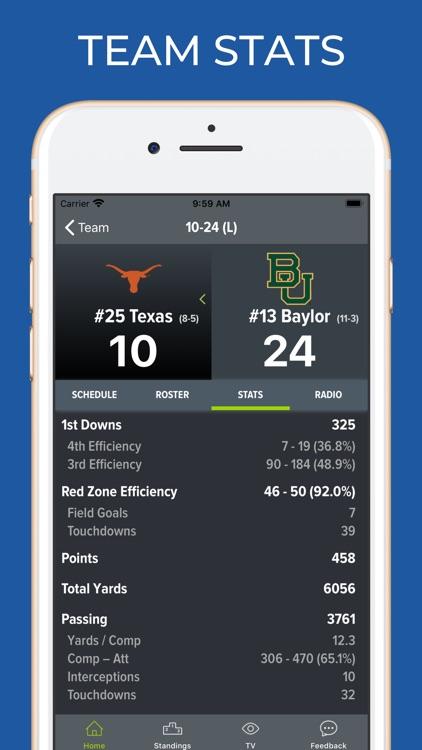 UT Texas Football screenshot-4