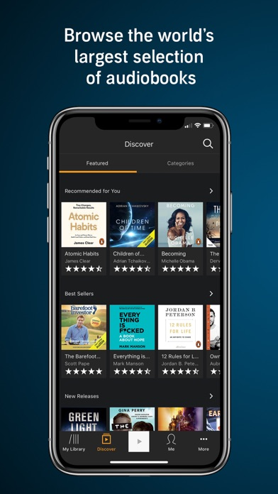 Download Audible - Audiobooks & Podcast for Pc