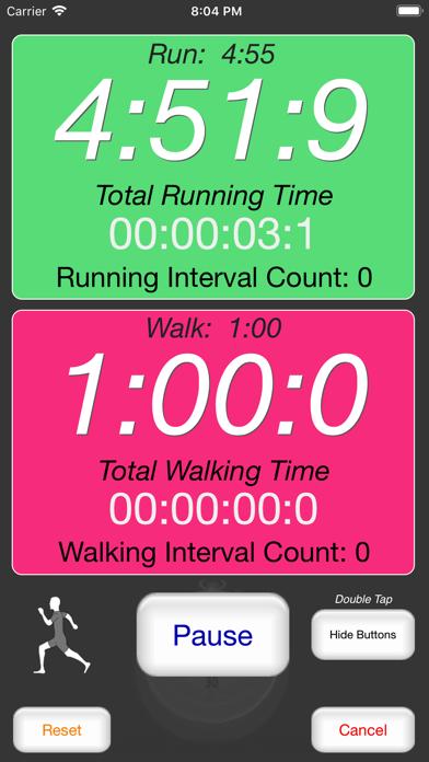 Runner's Interval Timerのおすすめ画像2