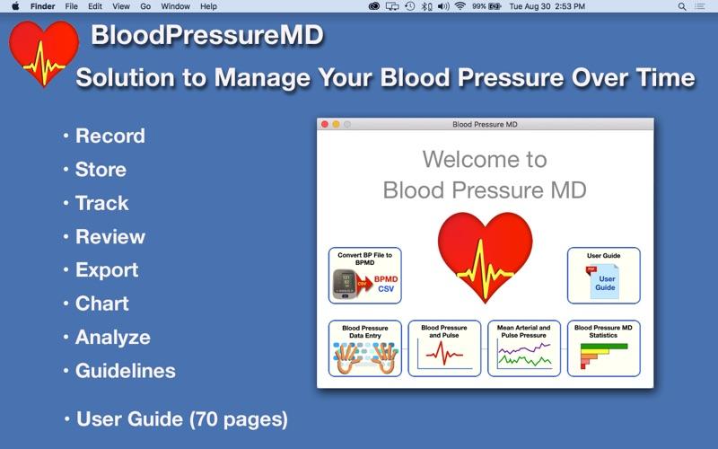 BloodPressureMD: Heart Health скриншот программы 1